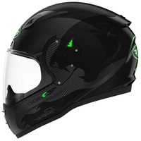 Roof RO200 Carbo Panther black/green-fluo