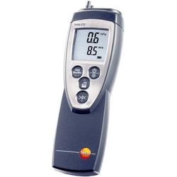 Testo 512 (0...2hPa) Druck-Messgerät Luftdruck 0 - 2hPa