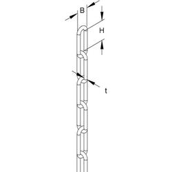 Niedax Gliederkette KN-3