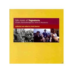 DIVERSE (FOLK JUGOSLAW.) - FOLK MUSIC OF YUGOSLAVIA (CD)