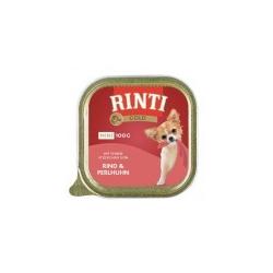 Rinti Gold Mini Rind und Perlhuhn 16 x 100 gr