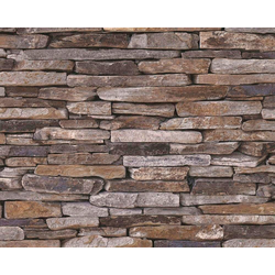 living walls Bordüre pop.up Panel 3D, Steinoptik, Naturstein, selbstklebend