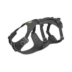 Ruffwear Hunde-Geschirr Flagline™, Nylon grau M - 69 cm - 81 cm
