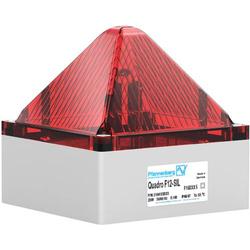 Pfannenberg Blitzleuchte QUADRO F12-SIL 230 AC RD Rot 230 V/AC