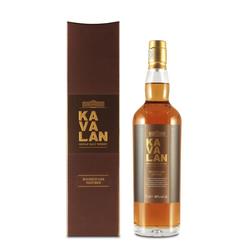 Kavalan Single Malt Whiskey ex-Bourbon Oak 0,7L (46% Vol.) in Geschenkbox