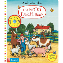 Axel Scheffler The Noisy Farm Book als Buch von Axel Scheffler