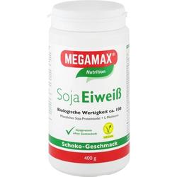 MEGAMAX Soja Eiweiß Schoko Pulver 400 g