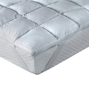 Classic Blanc - Topper / Faser Matratzenauflage Komfort plus, contra-allergen, mittlere Festigkeit, 100 x 200 cm, Höhe 8 cm, Bett 100