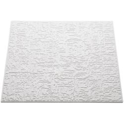 Decoflair Deckenplatten Deckenplatte T102, BxL: 50x50 cm, (Set, 16-tlg) in Putzoptik