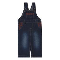 ESPRIT Boys Jeans-Latzhose dark indigo denim
