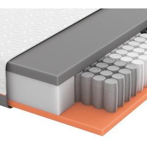 Schlaraffia Gel-Taschenfederkernmatratze Primus 290 TFK 90/200 cm , Primus 290 Tfk , Weiß , Textil , H2=mittel bis ca.80kg , 90x200 cm , Doppeltuch , Härtegradauswahl, Über- und Sondergrößen erhältlich, Bezug abnehmbar/waschbar, optimale Belüftung, für verstellbare Lattenroste geeignet, atmungsaktiv, alternative Größen erhältlich,Härtegradauswahl, Über- und Sondergrößen erhältlich, Bezug abnehmbar/waschbar, optimale Belüftung, für verstellbare Lattenroste geeignet, atmungsaktiv, alternative Größen erhältlic