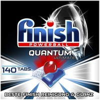 Finish Quantum Ultimate Geschirrspültabs 140 St.
