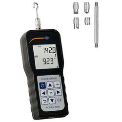 PCE Instruments Luftdruckmessgerät PCE Kraftmessgerät Zug- und Druckkraft Dynamometer PCE-FM 500N