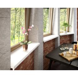 Baukulit VOX Fensterbank, LxT: 150x30 cm, weiß