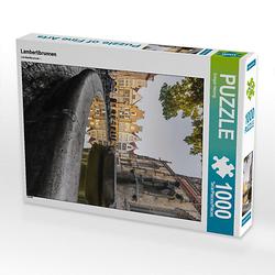 Lambertibrunnen Lege-Größe 48 x 64 cm Foto-Puzzle Bild von GHPHOTO Puzzle