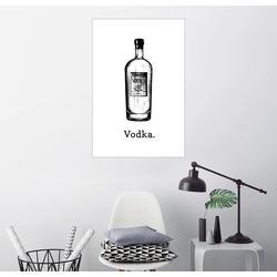 Posterlounge Wandbild, Vodka. 100 cm x 150 cm