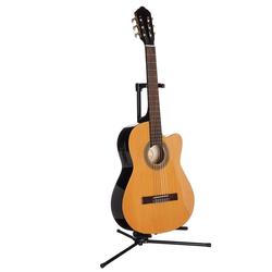Konzertgitarre Jose Ribera® Konzertgitarre 4/4 mit Equalizer 4/4 natur