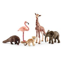 Schleich® Wild Life 42388 Tier-Mix Spielfiguren-Set