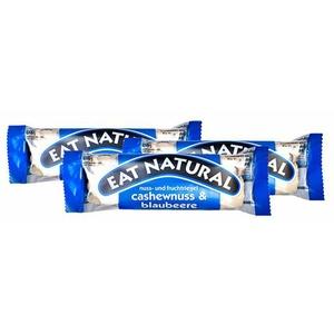 EAT Natural Nuss- und Fruchtriegel mit Joghurtüberzug, Cashew-Blaubeere 3X45 g Riegel
