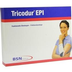 TRICODUR Epi Bandage Gr.M weiß blau 1 St.