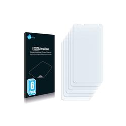 Savvies Schutzfolie für HTC Vivid, (6 Stück), Folie Schutzfolie klar