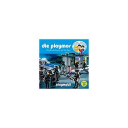 Edel Hörspiel CD Die Playmos 28 - Den Bankräubern auf der Spur