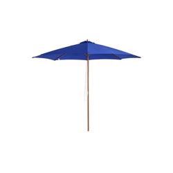 Outsunny Sonnenschirm Sonnenschirm mit leichtgängigem Seilzug
