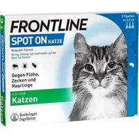 Merial Frontline Spot on Katze