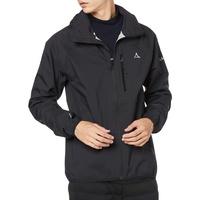 Schöffel Jacket Toronto4, wind- und wasserdichte Herren Jacke mit verstaubarer Kapuze, atmungsaktive und verstaubare Hardshelljacke für Männer Herren, black, 48