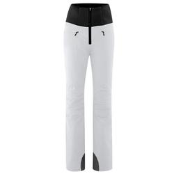 Maier Sports Skihose Ellaya Warme Jethose, gepolsterte Knie, elastisch weiß 42