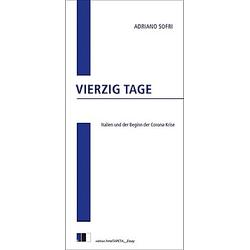 Vierzig Tage. Adriano Sofri  - Buch