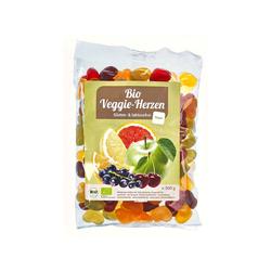 Bio-Fruchtsaftherzen für Veganer 500 g Tüte