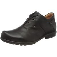 THINK! Think Herren KONG_3-000280 nachhaltige Wechselfußbett Schnürhalbschuhe, Schwarz (Schwarz 00), 45