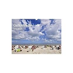 Ostfriesische Inseln (Wandkalender 2021 DIN A3 quer)