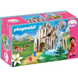 Playmobil® Konstruktions-Spielset Am Kristallsee mit Heidi, Peter und Clara (70254), Heidi, ; Made in Germany