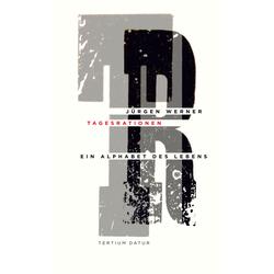 Tagesrationen als Buch von Jürgen Werner