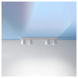 Linea Light Deckenleuchte Minion S4 schwarz