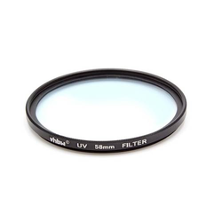 vhbw Universal UV-Schutz Filter 58mm passend für Kamera Canon MP-E 65 mm 2.8 (Lupenobjektiv), Canon TS-E 90 mm 2.8.