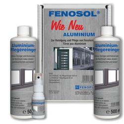 FENOPLAST Fenosol WIE NEU ALUMINIUM Fensterpflegeset