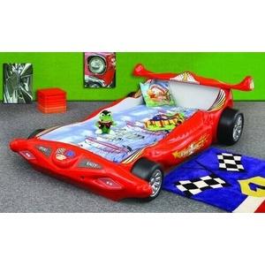 Bett Mit Matratze Kinderbett Autobett Kinderzimmer Farbauswahl Rennwagen