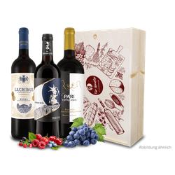 Präsent Für Genießer bester Rotweine