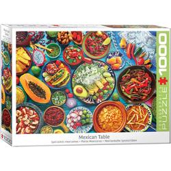 empireposter Puzzle Mexikanische Köstlichkeiten - 1000 Teile Puzzle im Format 68x48 cm, 1000 Puzzleteile