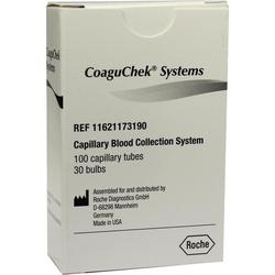 COAGUCHEK System S Kapillaren 100 St.