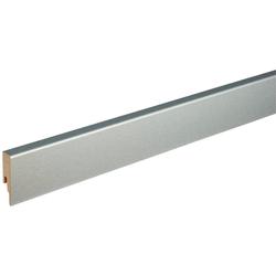 MODERNA Sockelleiste ASL 60 Edelstahl, L: 238 cm, H: 6 cm, Packung