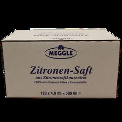 Meggle Zitronen-Saft 120 x 4,9 ml
