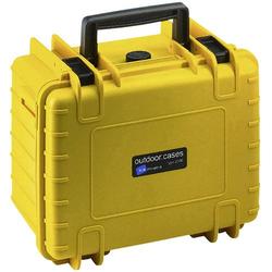 B & W Outdoor Koffer outdoor.cases Typ 2000 6.6l (B x H x T) 270 x 215 x 165mm Gelb 2000/Y/SI