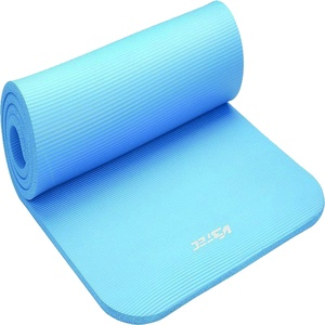 V3TEC Fitness Gymnastikmatte 190 x 60 cm blau