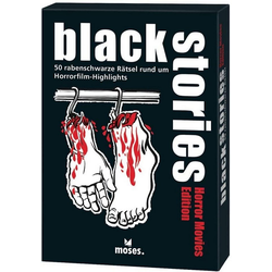 moses Spiel, Kartenspiel Black Stories - Horror Movies Edition
