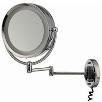 Möve Mirrors Wandspiegel mit Schwenkarm chrom