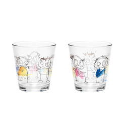 Aida Wasserglas 260 ml 4 St